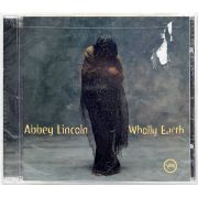 CD Abbey Lincoln - Wholly Earth - Lacrado - Importado