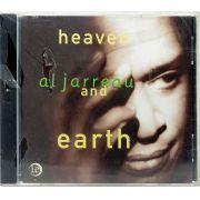 CD Al Jarreau - Heaven And Earth - Lacrado - Importado