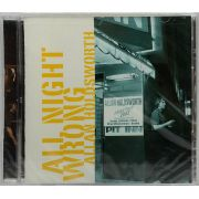 CD Allan Holdsworth - All night Wrong - Lacrado - Importado