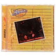 CD America - America Live - Importado - Lacrado