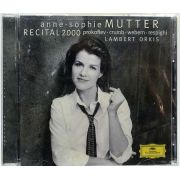 Cd Anne-Sophie Mutter - Recital 2000 - Lacrado - Importado