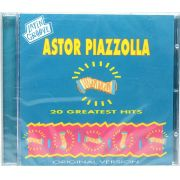 Cd Astor Piazzolla - 20 Greatest Hits - Lacrado - Importado