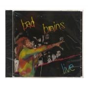CD Bad Brains - Live - Importado - Lacrado