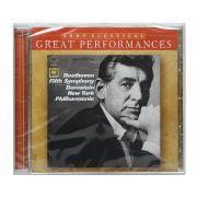CD Bernstein: Beethoven Symphony No. 5 - Importado - Lacrado