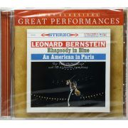 CD Bernstein - Rhapsody In Blue An American In Paris - Lacrado - Importado