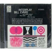 Cd Bill Evans - Interplay Bill Evans Quintet - Lacrado - Importado