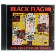 CD Black Flag - The First Four Years - Importado - Lacrado