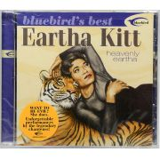 Cd Bluebirds Best Eartha Kitt - Heavenly Eartha - Lacrado - Importado