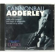 CD Cannonball Adderley - Paris Jazz Concert 1969 - Lacrado - Importado