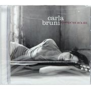 Cd Carla Bruni - Quelqu'un M'a Dit - Lacrado - Importado