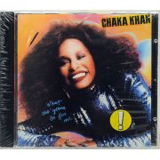CD Chaka Khan - What Cha' Gonna Do For Me - Lacrado - Importado