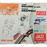 CD Claude Big Band Bolling - Stephane Grappelli: First Class - Lacrado - Importado