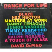 CD Dance For Life - Celebrates The 10th Anniversary Of Lifebeat - Lacrado - Importado