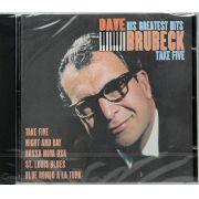 CD Dave Brubeck - Take Five His Greatest Hits - Lacrado - Importado