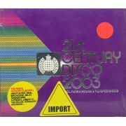 CD Duplo 21ST Century Disco 2003 Cool Funky House & Twisted Disco - Lacrado - Importado