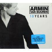 CD Duplo Armin Van Buuren - 10 Years - Lacrado - Importado
