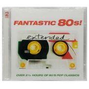 CD Duplo Fantastic 80s! Extended + de 2 Horas de Clássicos - Lacrado - Importado