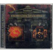 CD Duplo Front Line Assembly - Gashed Senses & Crossfire / Caustic Grip - Lacrado - Importado