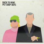 CD Duplo Pet Shop Boys - Back To Mine - Lacrado - Importado