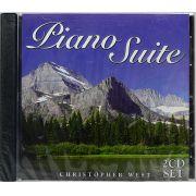 CD Duplo Piano Suite - Christopher West - Lacrado - Importado