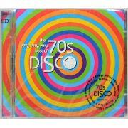 CD Duplo The Very Very Very Best Of 70s Disco - Lacrado - Importado