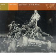 CD East Africa - Ceremonial & Folk Music - Lacrado - Importado