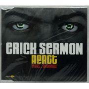 CD Erick Sermon - React Feat Redman - Lacrado - Importado