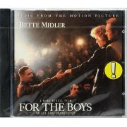 CD For The Boys: Music From The Motion Picture - Bette Midler - Lacrado - Importado