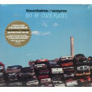 CD Duplo Fountains Of Wayne - Out-Of-State Plates - Lacrado - Importado