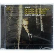 CD Glenn Gould Bach Partitas BWV 825-827 - Importado - Lacrado