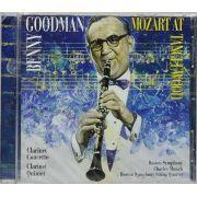 CD Goodman - Mozart At Tanglewood - Lacrado - Importado