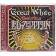 CD Great White Salutes Led Zeppelin - Importado - Lacrado