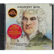 Cd Greatest Hits Bach - Lacrado - Importado