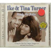 CD Ike & Tina Turner - Rock Me Baby - Lacrado - Importado