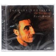 CD Jacques Loussier - The Very Best Of Play Bach - Importado EU - Lacrado