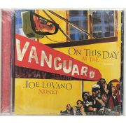 Cd Joe Lovano Nonet - On This Day At The Vanguard - Lacrado - Importado
