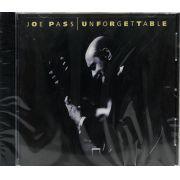 CD Joe Pass - Unforgettable - Lacrado - Importado