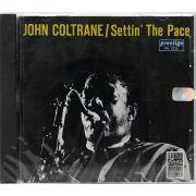 CD John Coltrane - Settin The Pace - Lacrado - Importado
