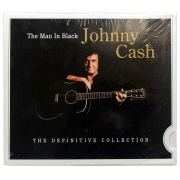 CD Johnny Cash - The Man In Black The Definitive Collection - Importado - Lacrado