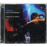 Cd Magik Six - Live In Amsterdam Mixed By Dj Tiesto - Lacrado - Importado