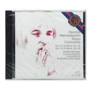 Cd Mendelssohn: Piano Concertos No 1 & 2 - Importado - Lacrado