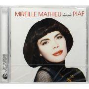 CD Mireille Mathieu - Chante Piaf - Lacrado - Importado