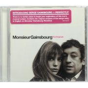CD Monsieur Gainsbourg - The Originals - Lacrado - Importado