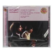 Cd Mozart / Schubert: Piano Works - Importado - Lacrado