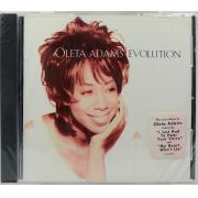 CD Oleta Adams - Evolution - Lacrado - Importado