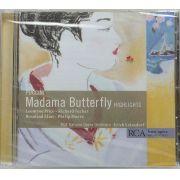 CD Puccini - Madama Butterfly Highlights - Lacrado - Importado