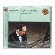 CD Scarlatti: Piano Sonatas, Vladimir Horowitz - Importado - Lacrado