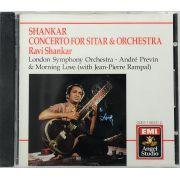 CD Shankar: Concerto For Sitar & Orchestra - Lacrado - Importado