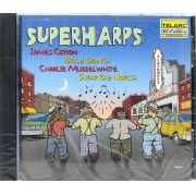 Cd Superharps - Cotton Branch Musselwhite Norcia - Lacrado - Importado