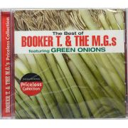 CD The Best Of Booker T. & The M.G.s Featuring Green Onions - Lacrado - Importado